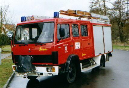 Das Löschgruppenfahrzeug 8 (LF-8)