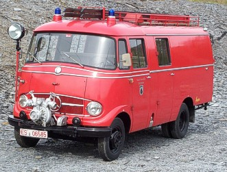Oldtimer Löschgruppenfahrzeug 8 (LF-8)