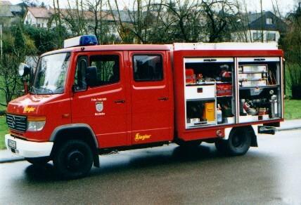 Tragkraftspritzenfahrzeug - Wasser (TSF-W)