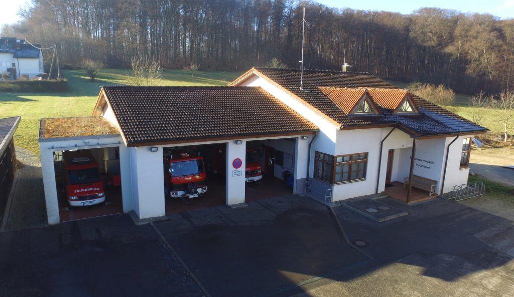 Feuerwehrhaus Holzmaden