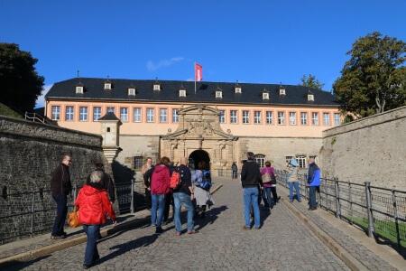 Die Zitadelle Petersberg