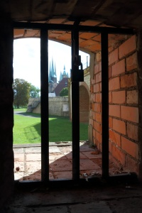 Im inneren der Zitadelle Petersberg