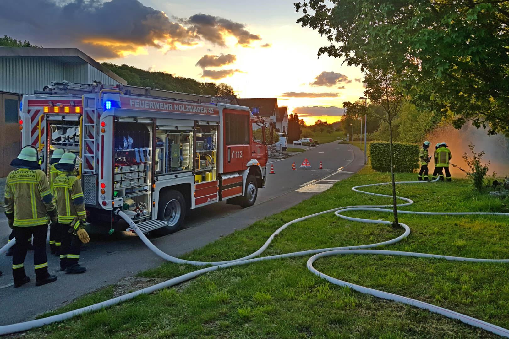 Ende September nimmt die Feuerwehr Holzmaden den Übungsbetrieb wieder auf.