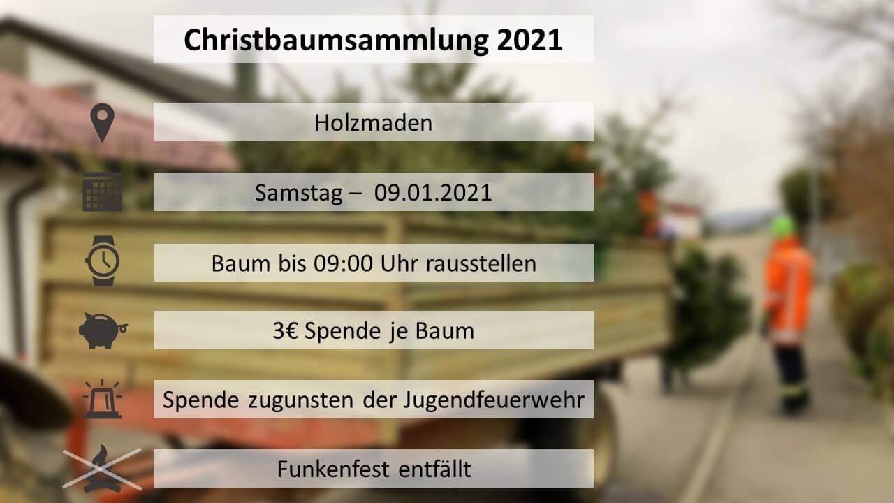 Christbaumsammlung_2021